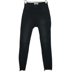 One Teaspoon High Waist Freebird II Skinny Jeans